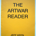 Jeff Keen, _The Artwar Reader_. 16 pages in printed yellow card wrappers. A5 format.