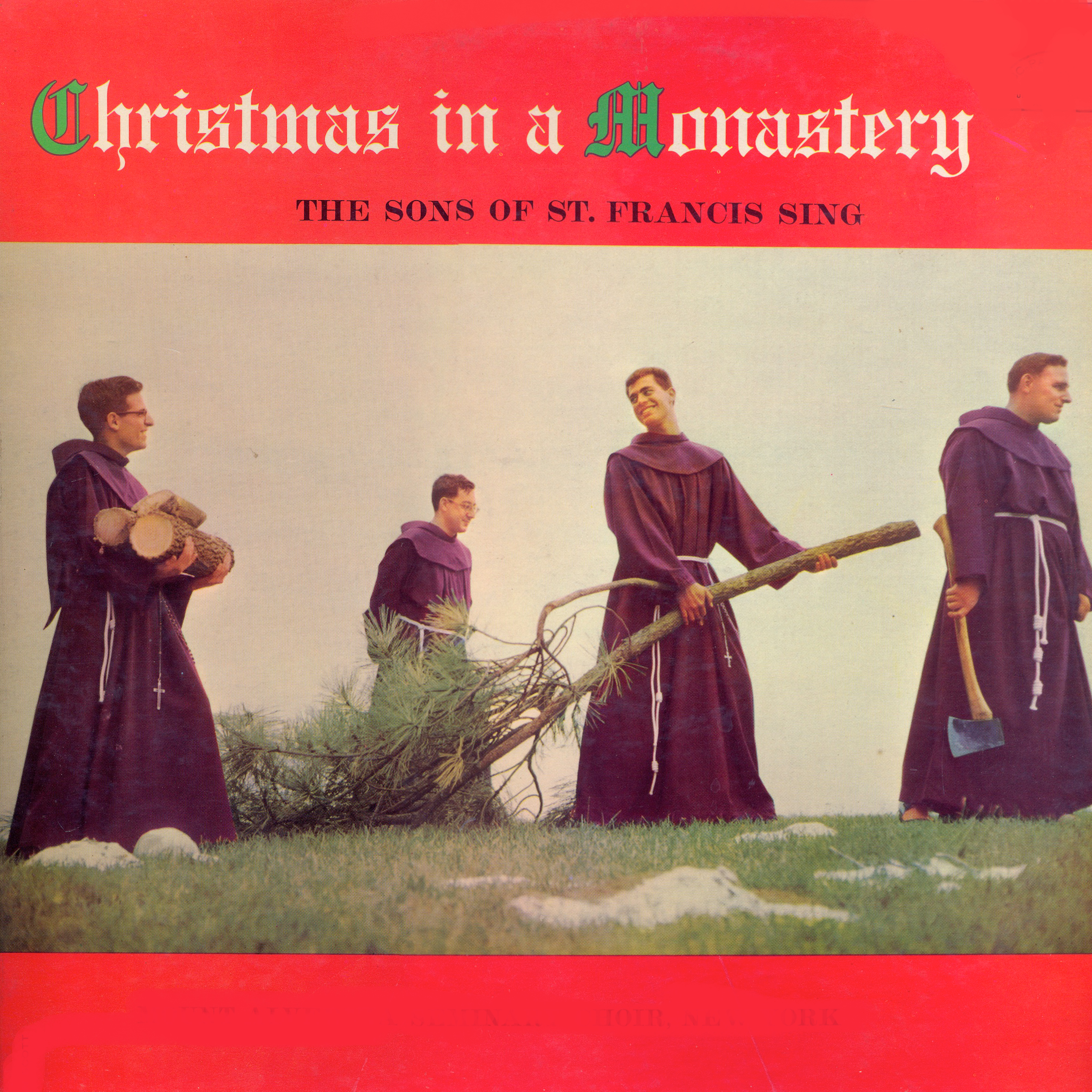 Christmas In A Monastery