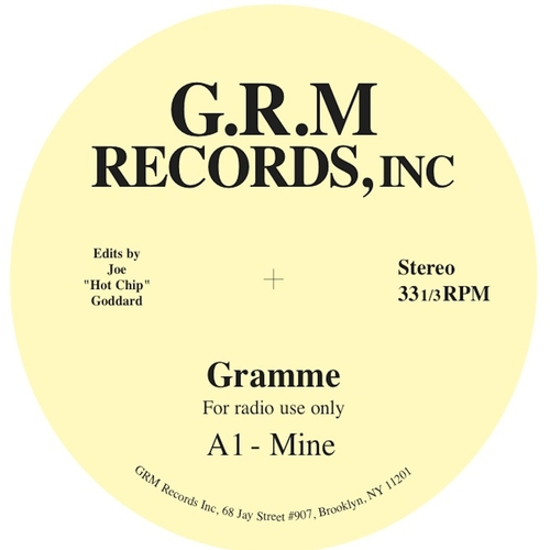 Gramme - Like You / Mine (Hot Chip Edit)