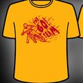 Men's Yellow Go! Team Biker T-Shirt