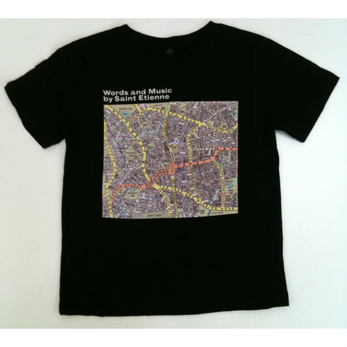 Saint Etienne - 'Words and Music' Black Childrens Tee