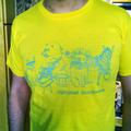 Alphabet Backwards Shirt Yellow