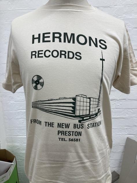 HERMONS RECORDS BRUTALIST TEE