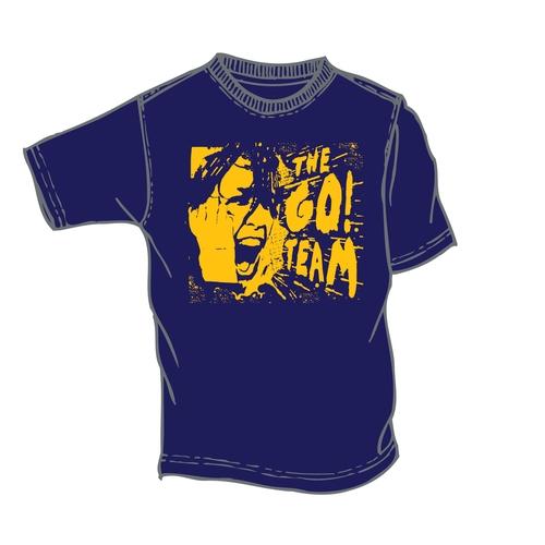The Go! Team - Woman's Go! Team Blue Scream T-shirt