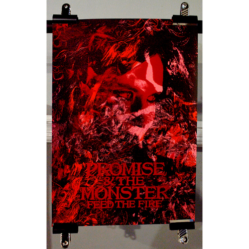 Promise And The Monster screen-print poster