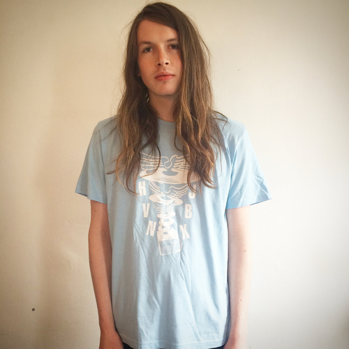 SALE ITEM - Heavenly Jukebox baby blue T-shirt