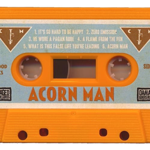 Billy Childish, CTMF - CTMF - Acorn Man Cassette (Orange)