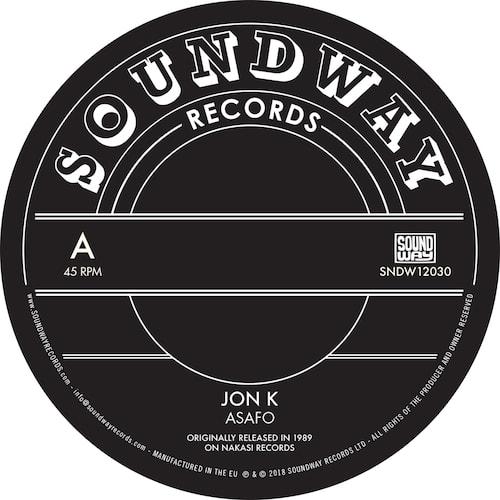 Jon K / Pat Thomas - Asafo / Enye Woa