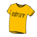Psapp Cat Gold T-Shirt