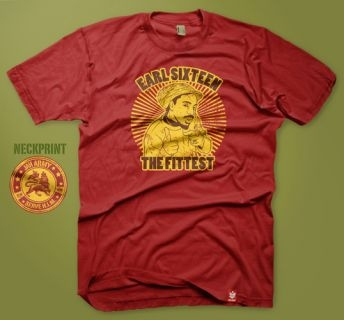 Earl Sixteen - Earl Sixteen - The Fittest Shirt Red