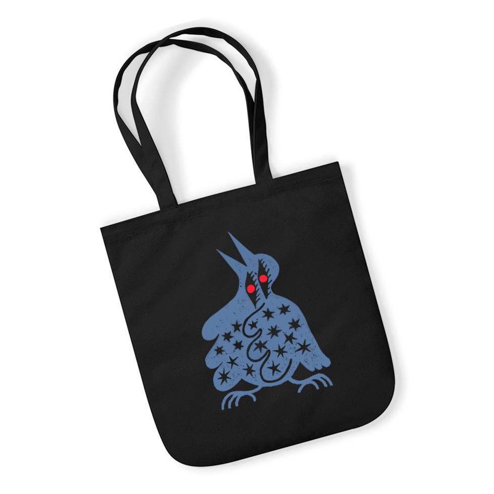 Sophy Hollington Bird Logo Tote Bag - Black