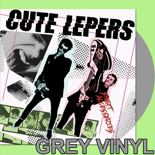 The Cute Lepers - The Cute Lepers - Smart Accessories LP - Grey Vinyl