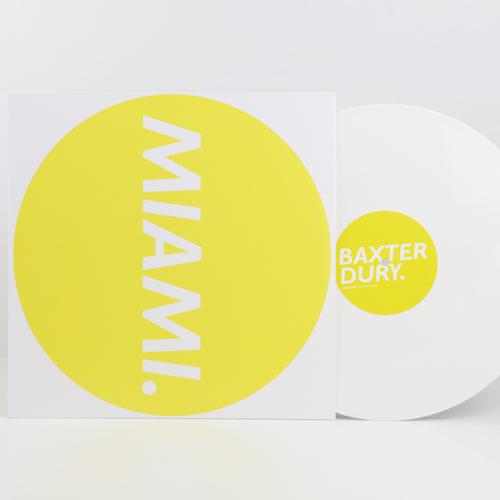 """Baxter Dury """"Miami"""" 12 Vinyl LP"""