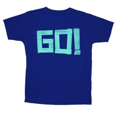 The Go! Team - womansGo!shirtnavy