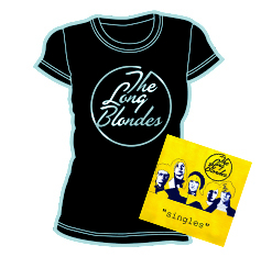 "The Long Blondes - ""Singles"" + Skinny T-Shirt"