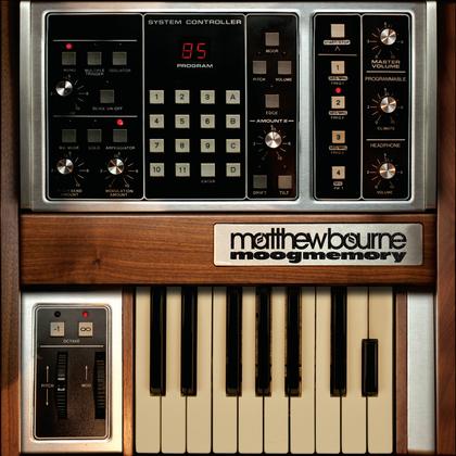 Matthew Bourne - moogmemory cover