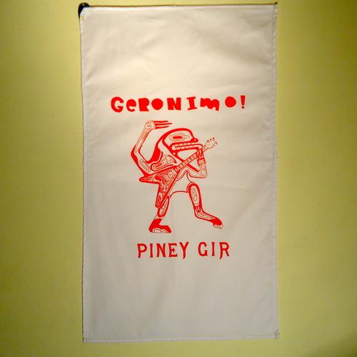 Piney Gir - Geronimo! Tea towels