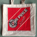 Our Price Records Tote Bag