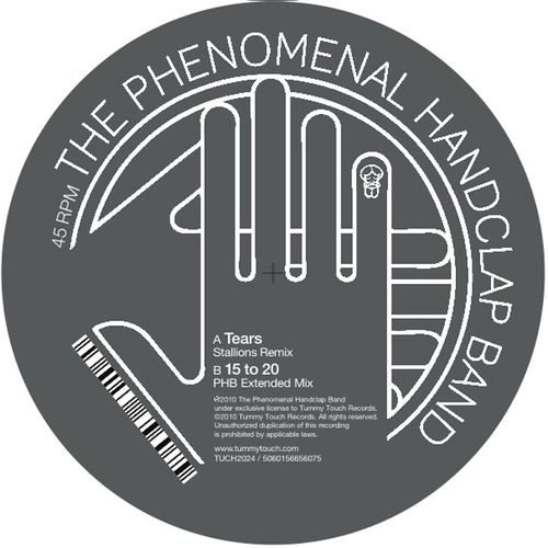 The Phenomenal Handclap Band - Tears Remix 12""
