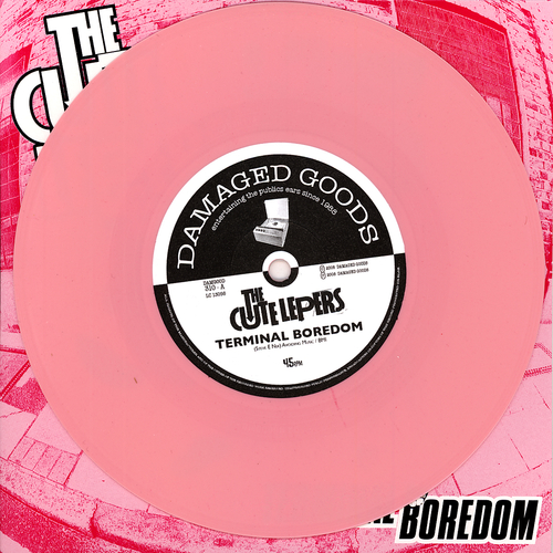 The Cute Lepers - Terminal Boredom (Pink Vinyl)