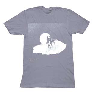 Papercuts - Papercuts Mens T Shirt - Slate