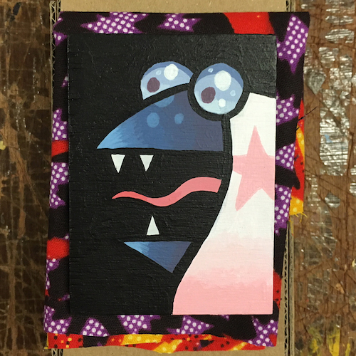 Right Guy small painting