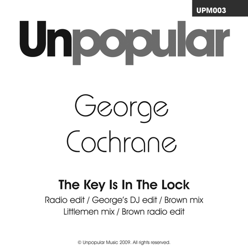 George Cochrane - The Key Is In The Lock