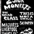 2 Sick Monkeys + The Dead Class + more @ Maguire's, Liverpool