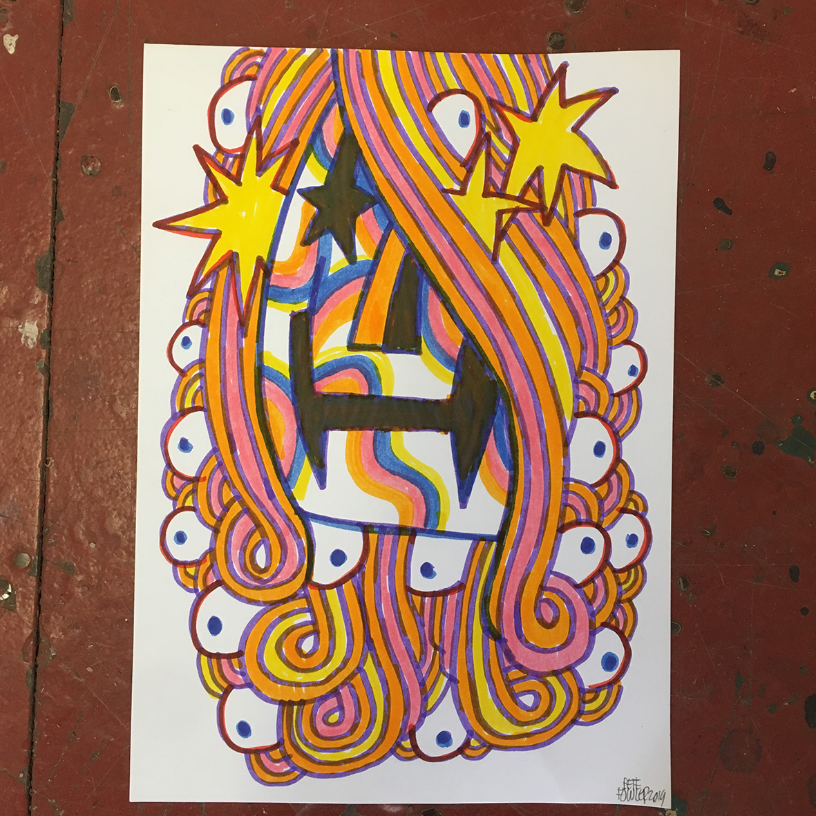 Maxxi 6 drawing
