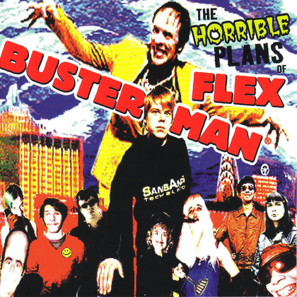 Patric C - The Horrible Plans of Flex Busterman cover