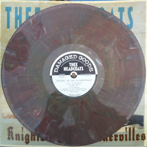 Thee Headcoats - Thee Headcoats - Knights Of The Baskervilles SPLATTERED VINYL