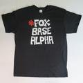 'Foxbase Alpha' Mens Black Tee