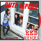 The Cute Lepers - Adventure Time LP (Red vinyl)