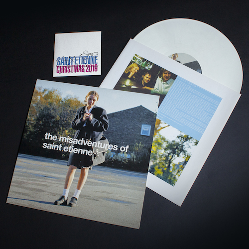 Saint Etienne - 'The Misadventures Of Saint Etienne' White Vinyl with signed card/CD