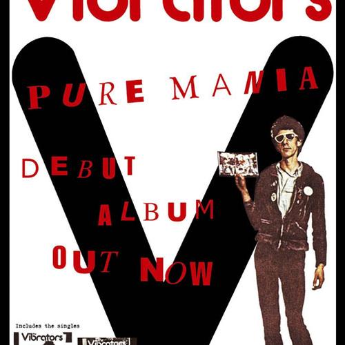 The Vibrators - Vibrators / Pure Mania poster