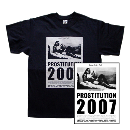 Throbbing Gristle - Prostitution T-shirt & Poster Bundle