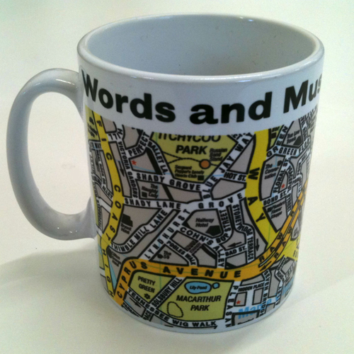 Saint Etienne - Words and Music Mug