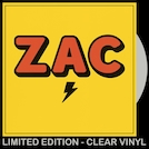 ZAC (CLEAR VINYL LP)
