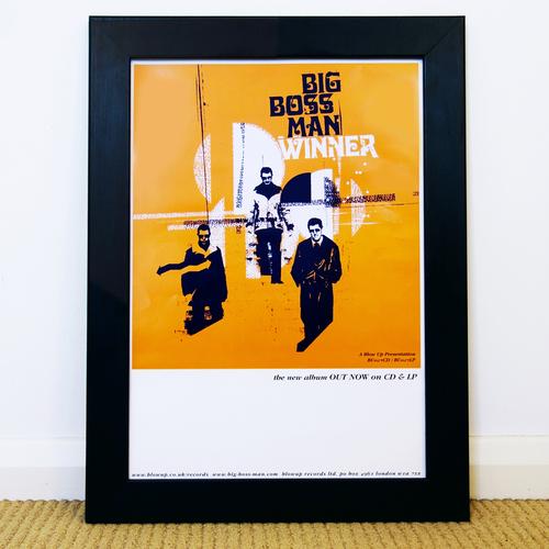 Big Boss Man - Big Boss Man 'Winner' Promo Poster