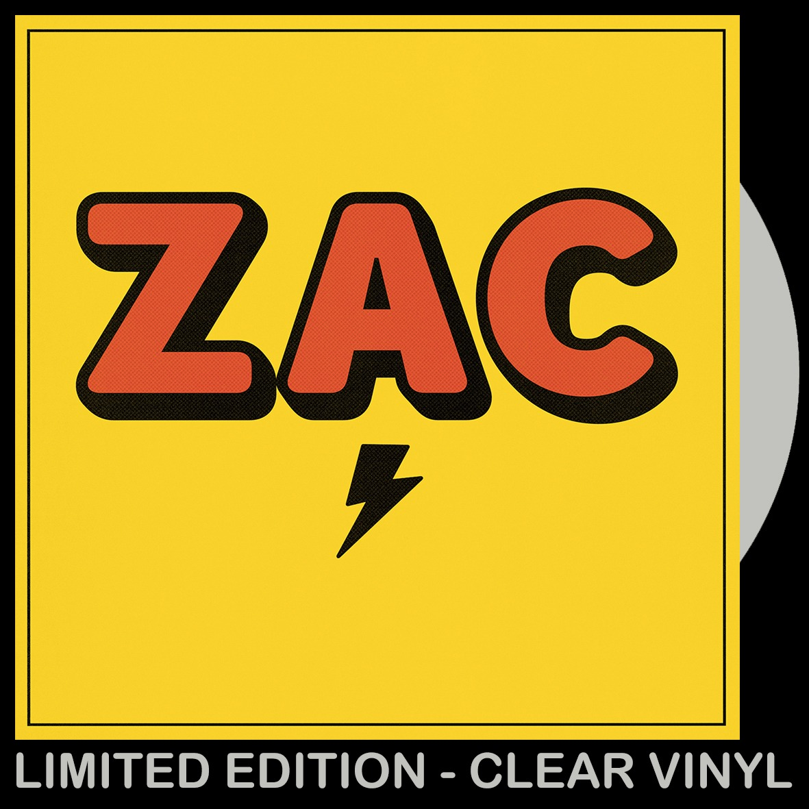 ZAC (CLEAR VINYL LP)