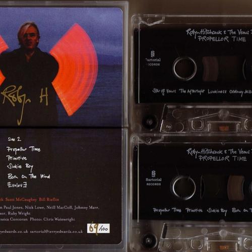 Robyn Hitchcock & the Venus 3 - Robyn Hitchcock & the Venus 3 - Propellor Time - Cassette
