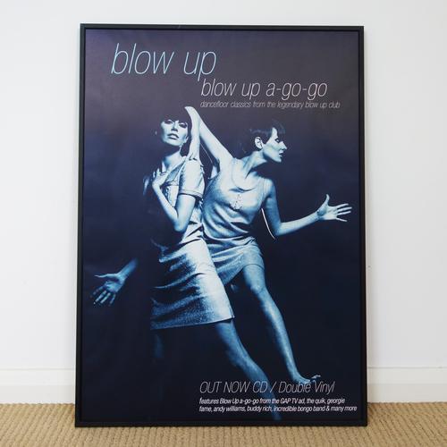 Blow Up - Blow Up A-Go-Go! Dancefloor Classics Promo Poster