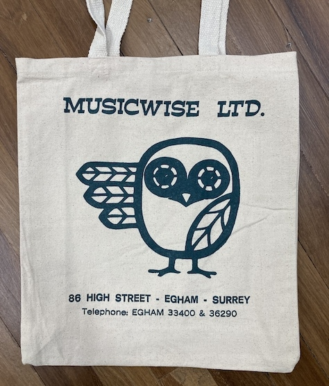 MUSICWISE TOTE BAG