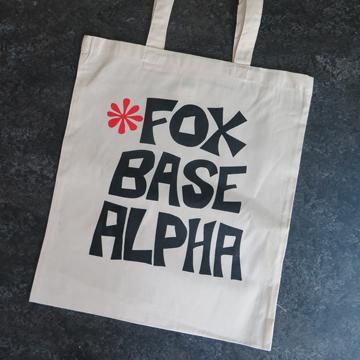 'Fox Base Alpha' Tote Bag