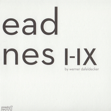 Long dead machines I - IX