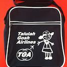Talulah Gosh Flight Bag BLUE