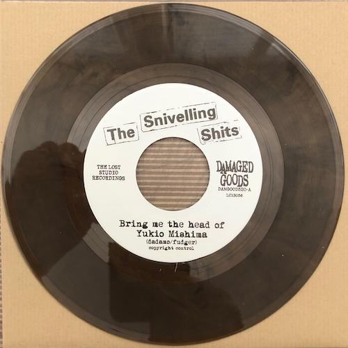 "The Snivelling Shits - Bring Me The Head Of Yukio Mishima - TOBACCO BROWN SMOKE VINYL 7"""