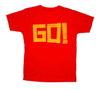 The Go! Team - womansredGo!