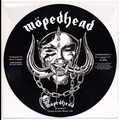 "Motorhead - 7"" pic disc (BLACK/WHITE VERSION)"