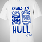 Brewed in Hull T-shirt